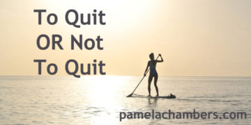 Quit or Not Quit; Scarcity Creates Value