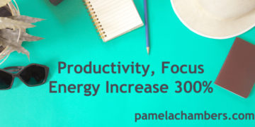 Productivity, Focus, Energy Increase 300%